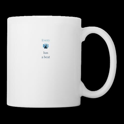 every heart has a beat - Coffee/Tea Mug