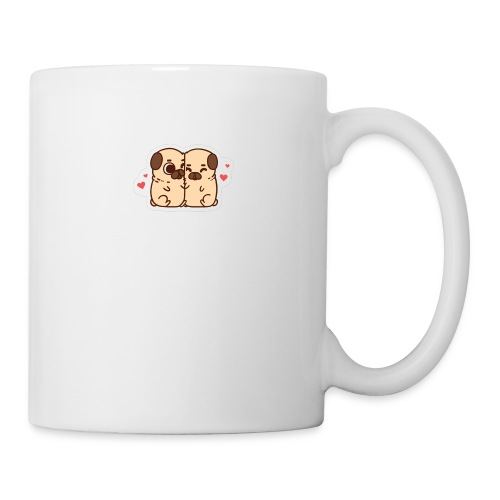 dog love - Coffee/Tea Mug