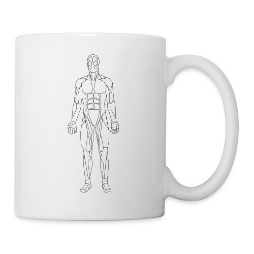 Geometric human - Coffee/Tea Mug