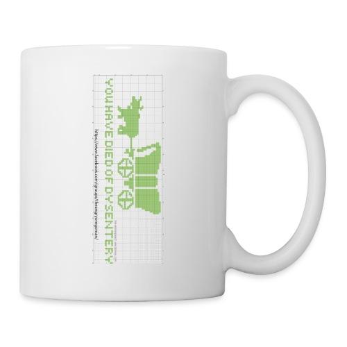 oregon trail finished chart2 - Coffee/Tea Mug