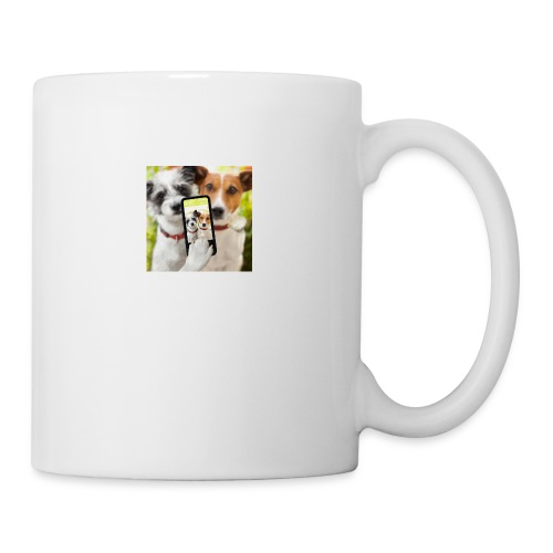 Dogs & Phone - Coffee/Tea Mug