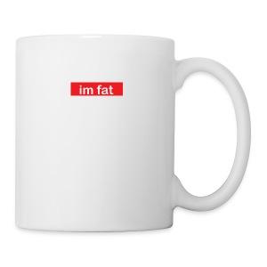 im fat (Supreme) - Coffee/Tea Mug
