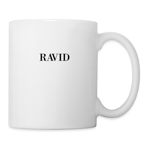 ravid_logo_black - Coffee/Tea Mug