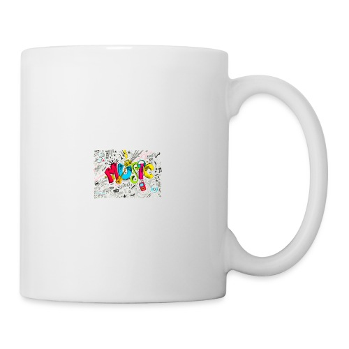 music banner - Coffee/Tea Mug