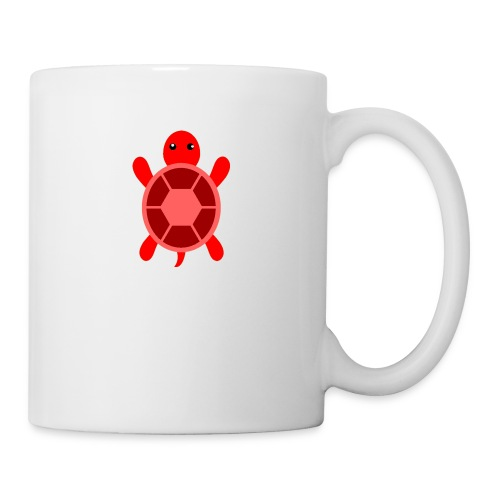CrazyLittleRedTurtle! - Coffee/Tea Mug