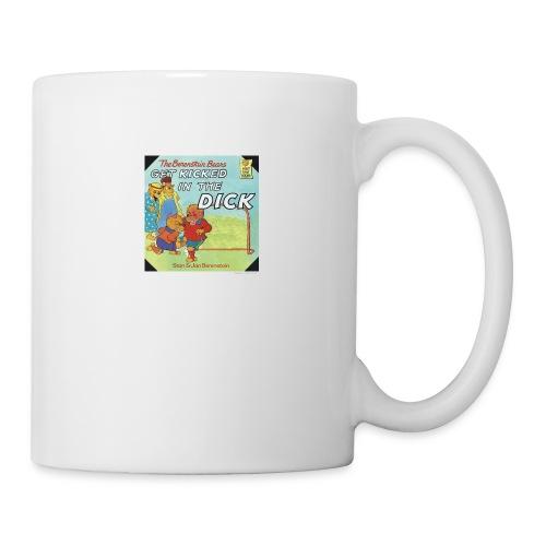 kicked in the dick - Coffee/Tea Mug