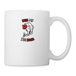 Kiss My Big Bass - Coffee/Tea Mug