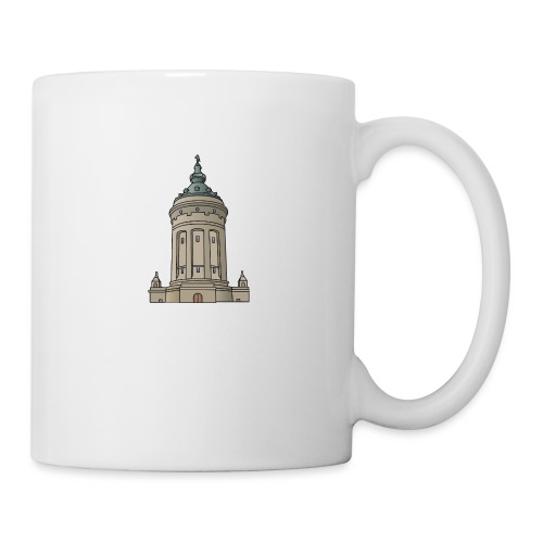 Mannheim water tower - Coffee/Tea Mug