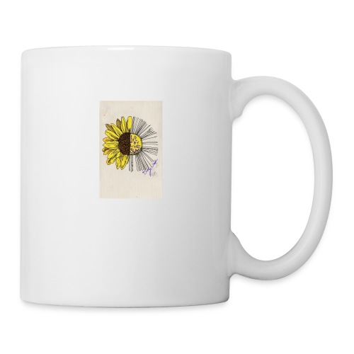 sunflower quote - Coffee/Tea Mug