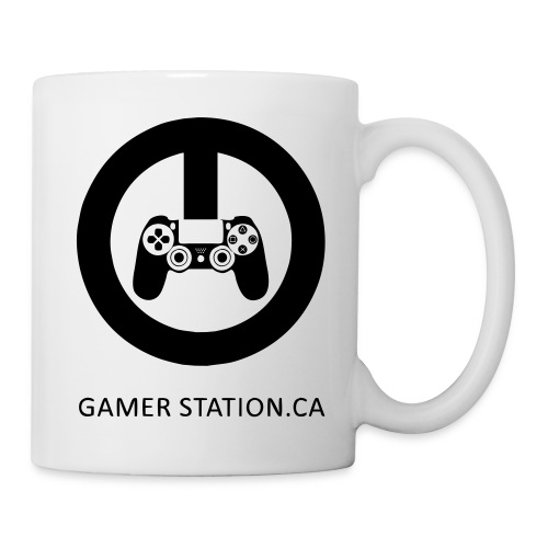 GamerStation.ca logo - Coffee/Tea Mug