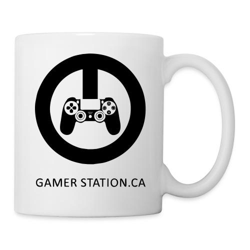 GamerStation.ca logo - Coffee/Tea Mug