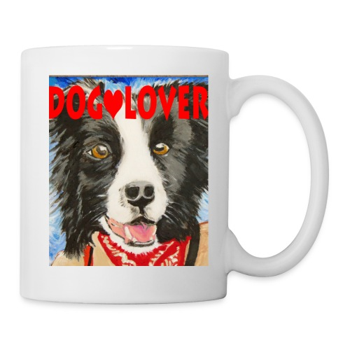 dog-lover border collie - Coffee/Tea Mug