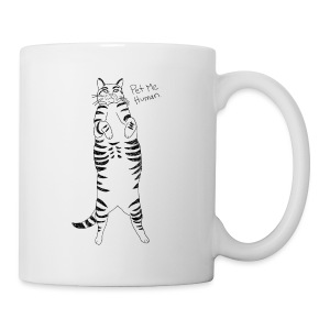 Pet me Human - Coffee/Tea Mug