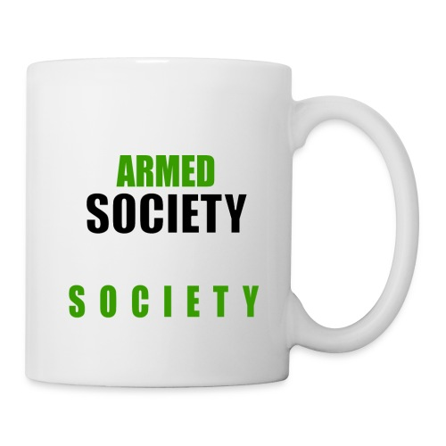 An Armed Society Is A Polite Society - Coffee/Tea Mug