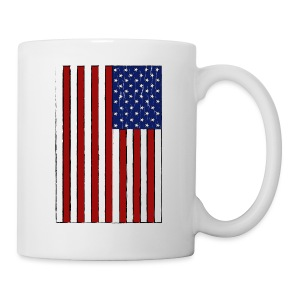 USA Flag (Distressed) - Coffee/Tea Mug