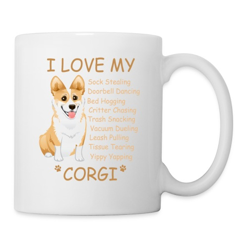 I Love My Corgi - Coffee/Tea Mug