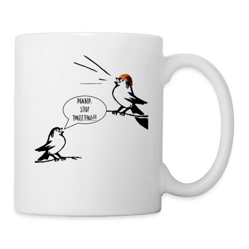 Donald Trump Tweeting T Shirt - Coffee/Tea Mug