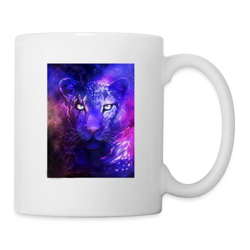 glowing leopard - Coffee/Tea Mug
