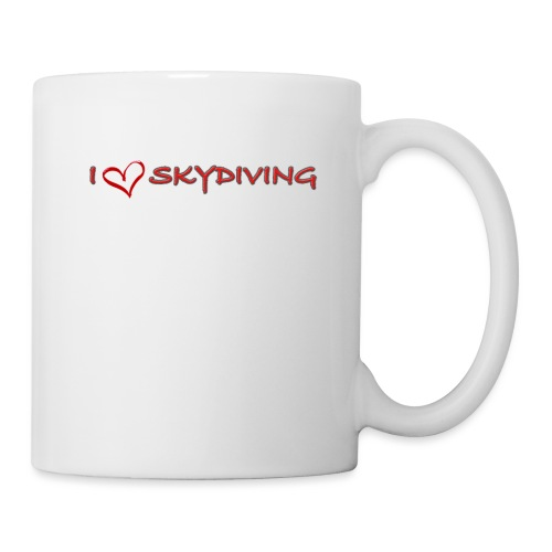 I love skydiving T-shirt/BookSkydive - Coffee/Tea Mug