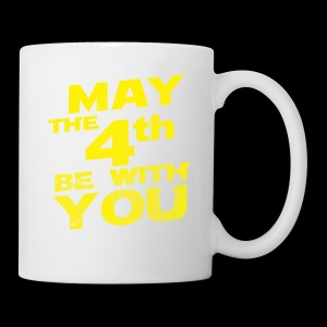 May The 4th Be With You Distressed - Coffee/Tea Mug