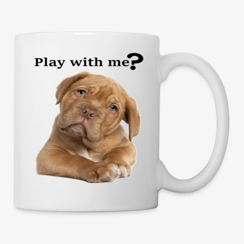 Play with me ? T-shirt cute - Coffee/Tea Mug