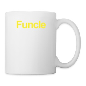 The FUNCLE Shirt - Like A Dad Only Awesomer - Coffee/Tea Mug