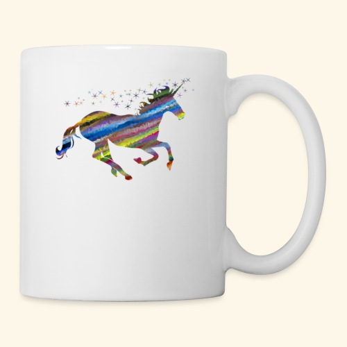 Multi color Unicorn - Coffee/Tea Mug