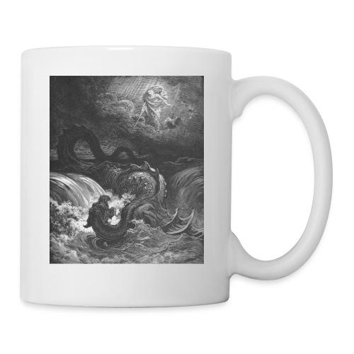 God Smites the Leviathan - Coffee/Tea Mug