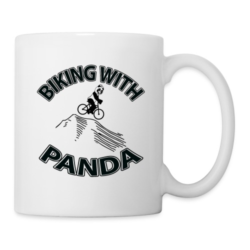 Biking with Panda - Coffee/Tea Mug