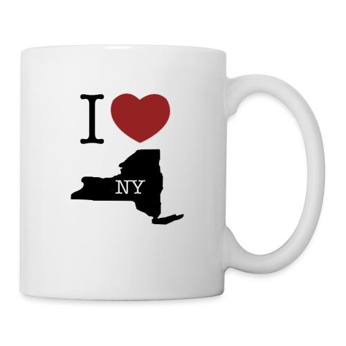 I Love NY T-Shirt - Coffee/Tea Mug