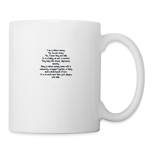 Reborn mommy shirt - Coffee/Tea Mug