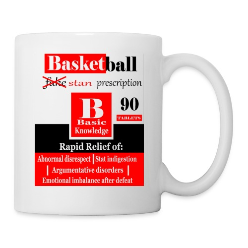 basketball prescription final - Coffee/Tea Mug