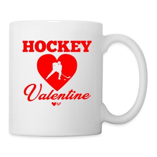 Valentine Tee. Shirt For Hockey Lover. - Coffee/Tea Mug