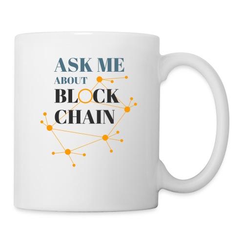 Ask Me About Blockchain - Coffee/Tea Mug