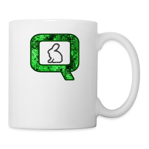 Q QANON Green Follow The White Rabbit - Coffee/Tea Mug