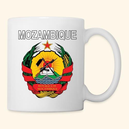 Mozambique coat of arms national design - Coffee/Tea Mug