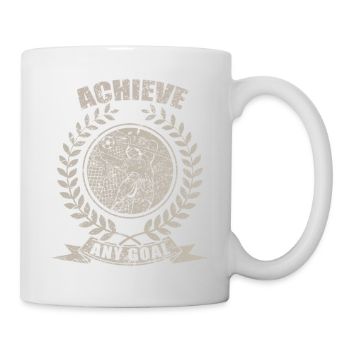 Achieve Any Goal Soccer Design - Coffee/Tea Mug