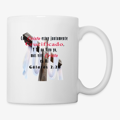 Galatas 2 20 - Coffee/Tea Mug