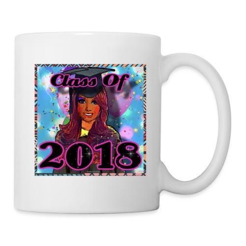 Class Of 2018 Young Lady Graduate - Coffee/Tea Mug