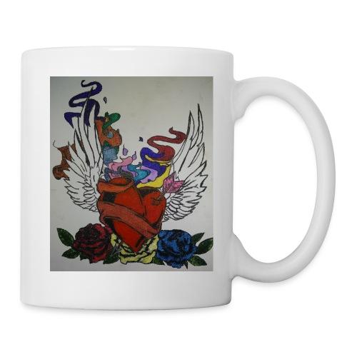 Winged heart - Coffee/Tea Mug