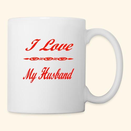 I Love My Husband - Coffee/Tea Mug