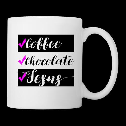 Coffee Chocolate Jesus Coffee Mug/Cup - Coffee/Tea Mug