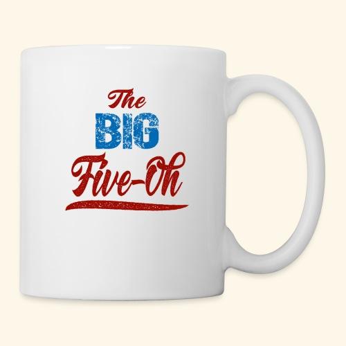 The Big Five Oh 50th birthday present - Coffee/Tea Mug