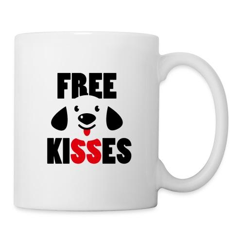 Free Kisses T Shirt - Coffee/Tea Mug