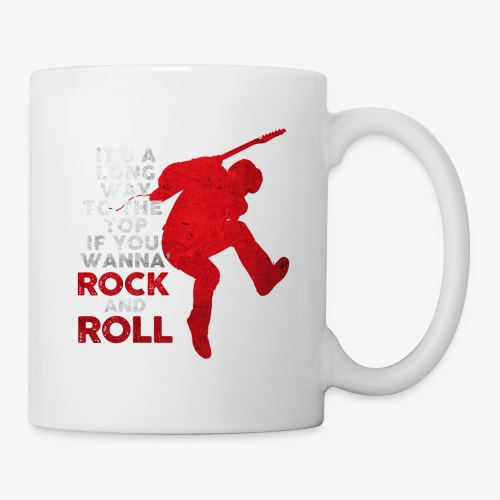 rock and roll - Coffee/Tea Mug