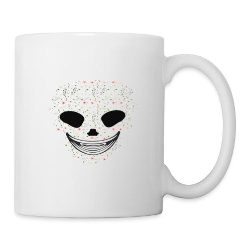 Skull Flowers Cute Death - Coffee/Tea Mug