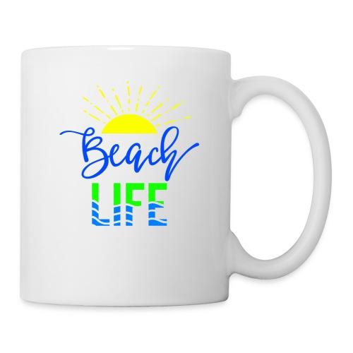 beach life shirt - Coffee/Tea Mug