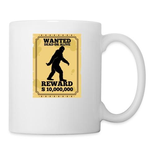Bigfoot Wanted Dead Or Alive T-Shirt - Coffee/Tea Mug