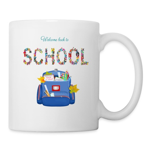 welcome back to school kids 2019 - Coffee/Tea Mug