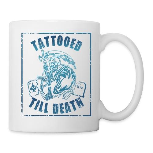 TATTOOED TILL DEATH GRIM REAPERS t shirt - Coffee/Tea Mug